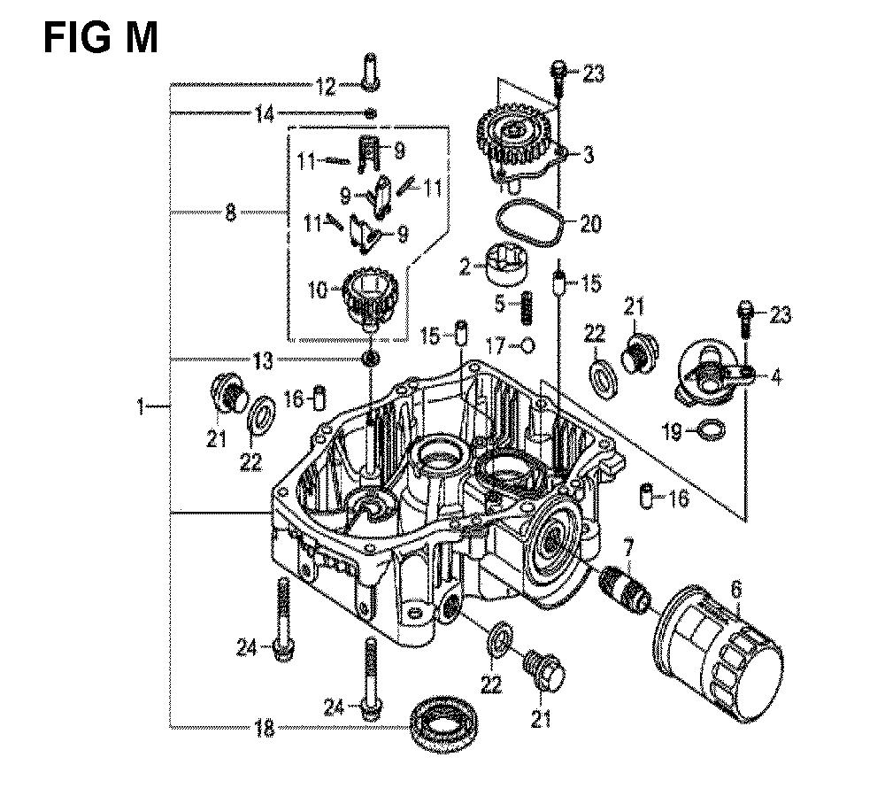 GXV630R-TQYF2-Honda-PB-13Break Down