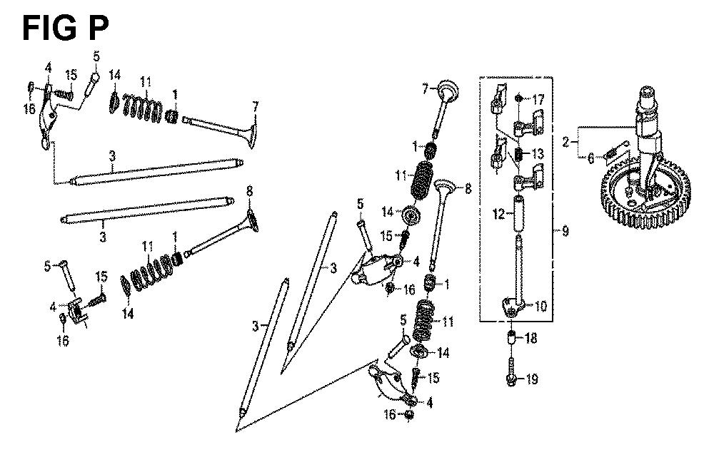 GXV630R-TQYF2-Honda-PB-16Break Down