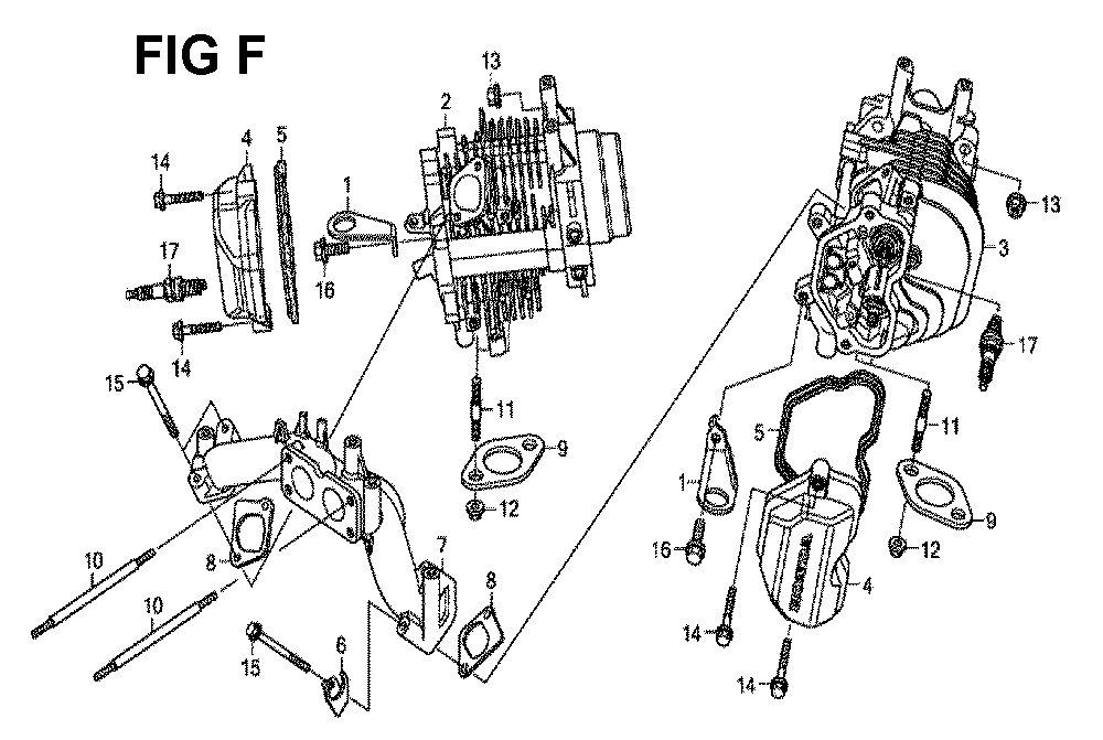 GXV630R-TQYF2-Honda-PB-6Break Down