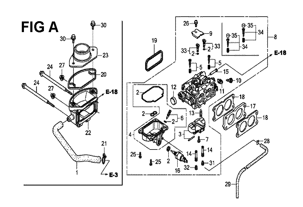 GXV630R-TTAF-Honda-PB-1Break Down