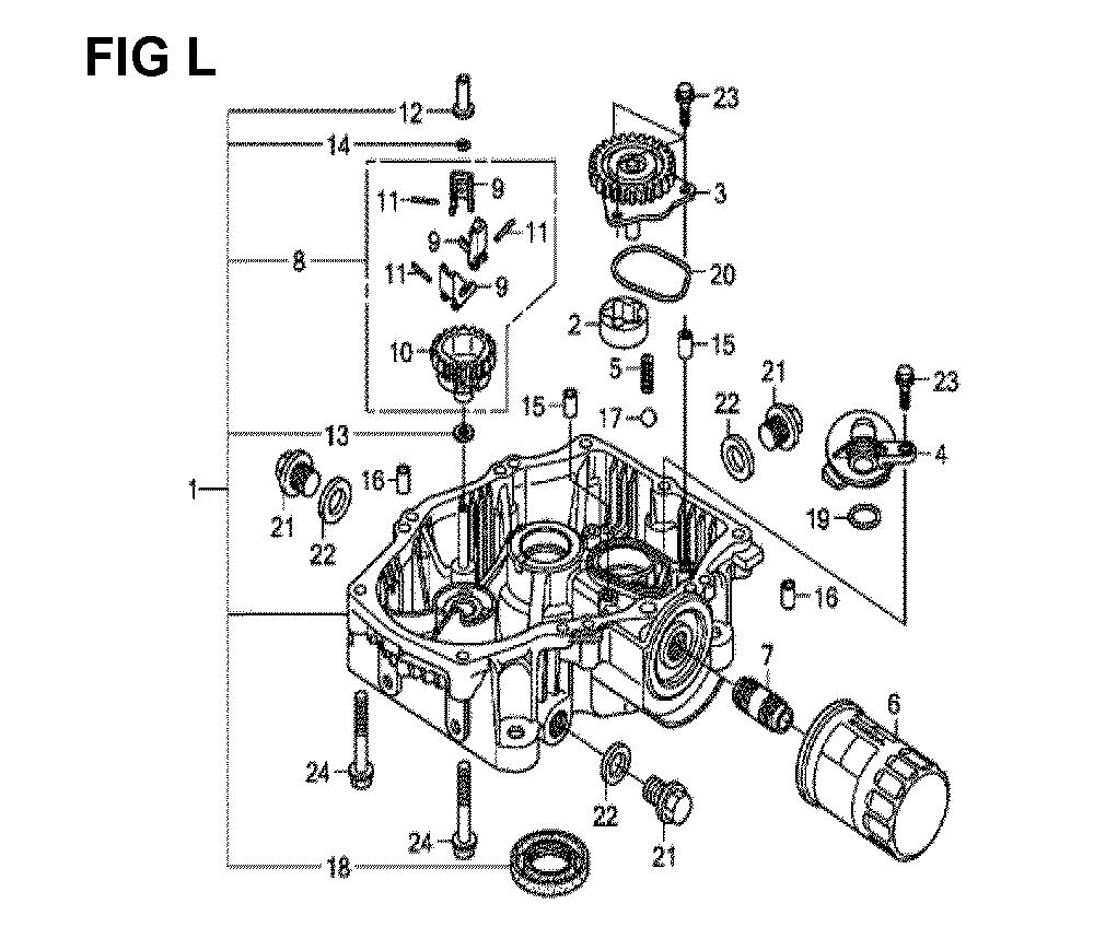 GXV630R-TTAF-Honda-PB-12Break Down