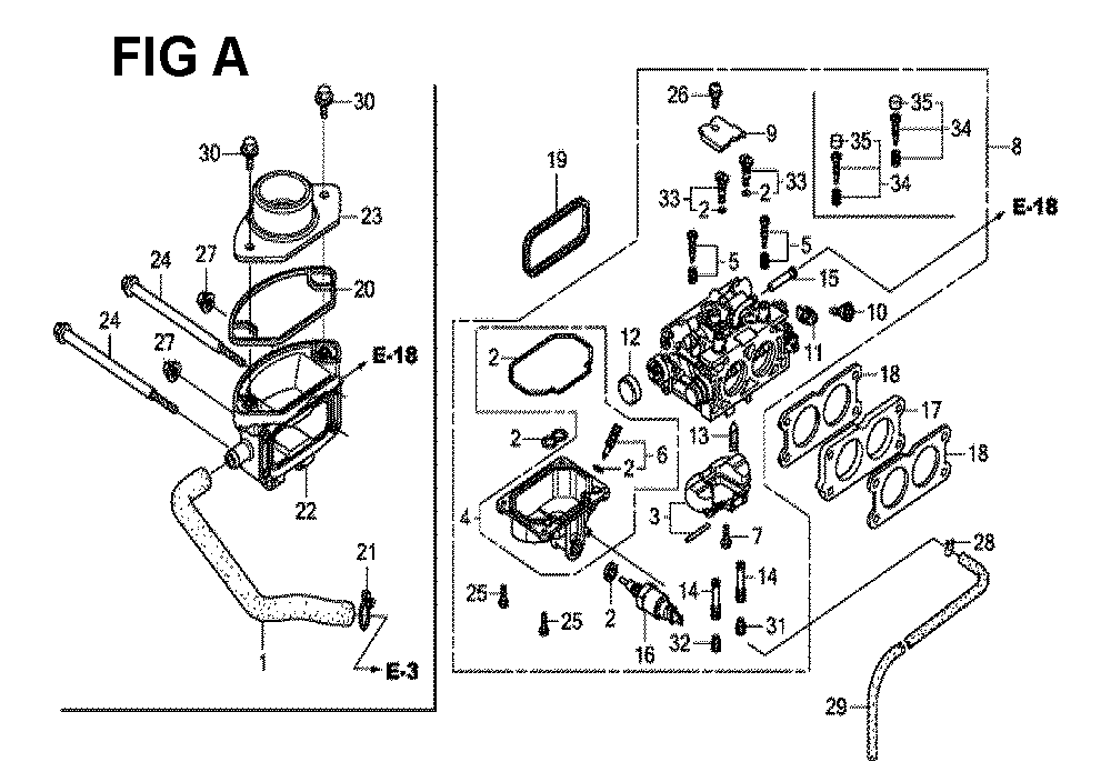 GXV630R-TTAF2-Honda-PB-1Break Down