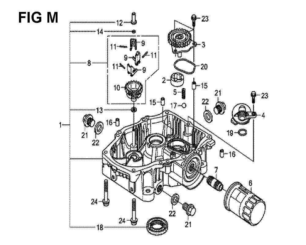 GXV630R-TTAF2-Honda-PB-13Break Down