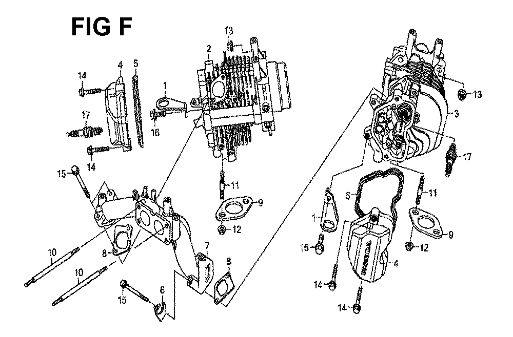 GXV630R-TTAF2-Honda-PB-6Break Down