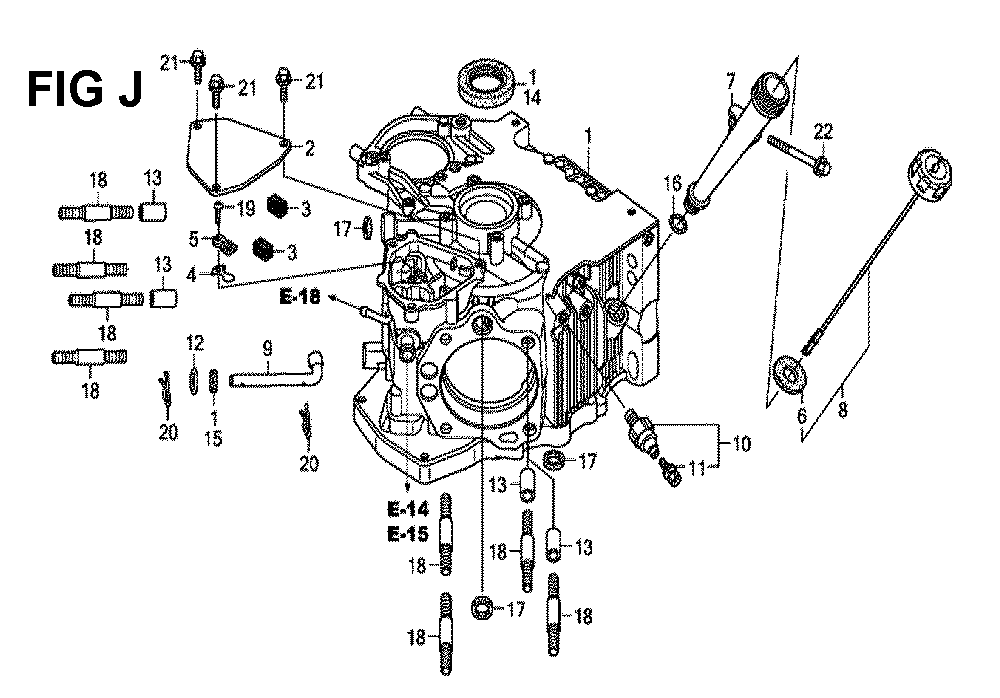 GXV660R-TQYF4-Honda-PB-10Break Down