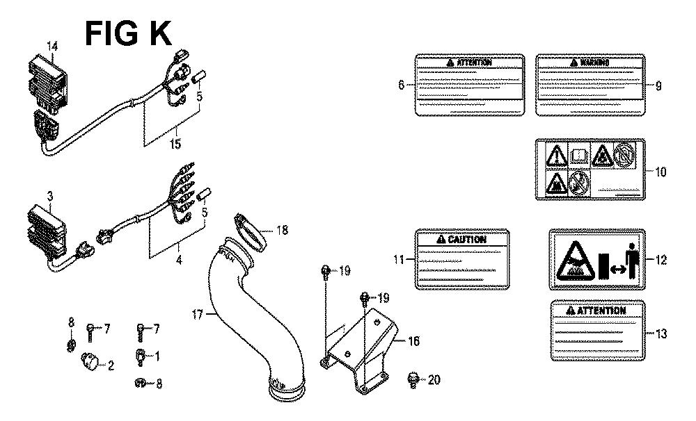 GXV660R-TQYF4-Honda-PB-11Break Down