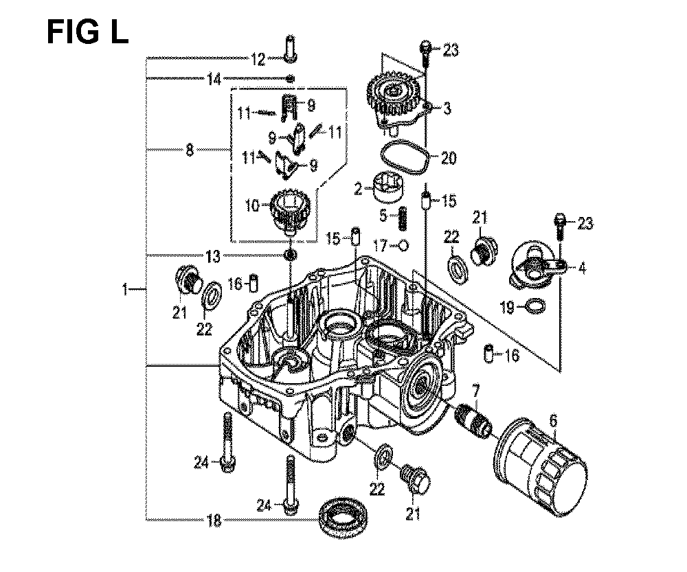 GXV660R-TQYF4-Honda-PB-12Break Down