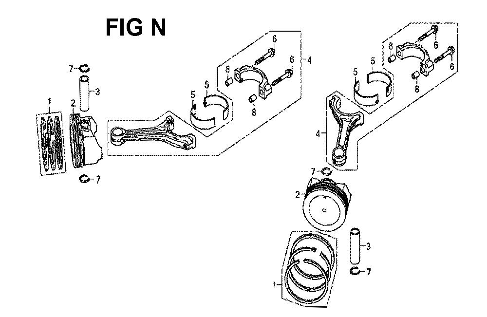 GXV660R-TQYF4-Honda-PB-14Break Down