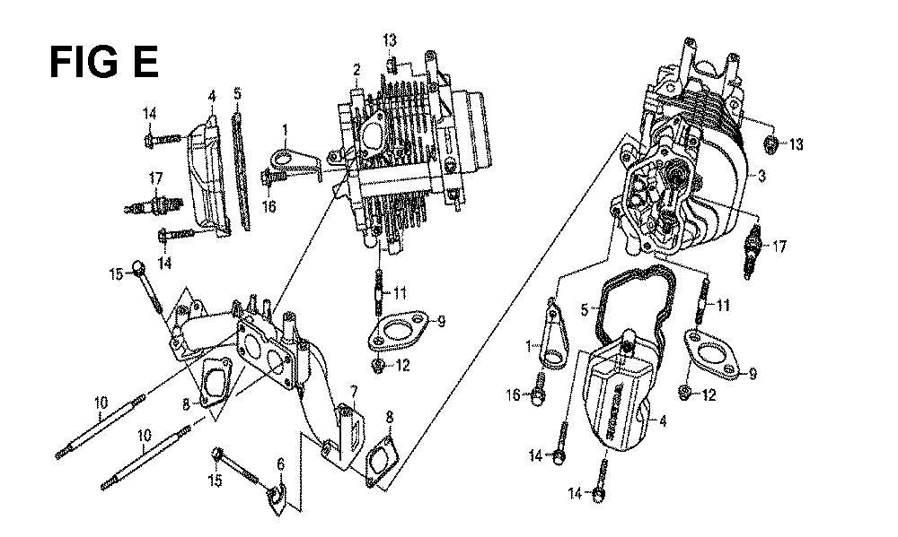GXV660R-TQYF4-Honda-PB-5Break Down