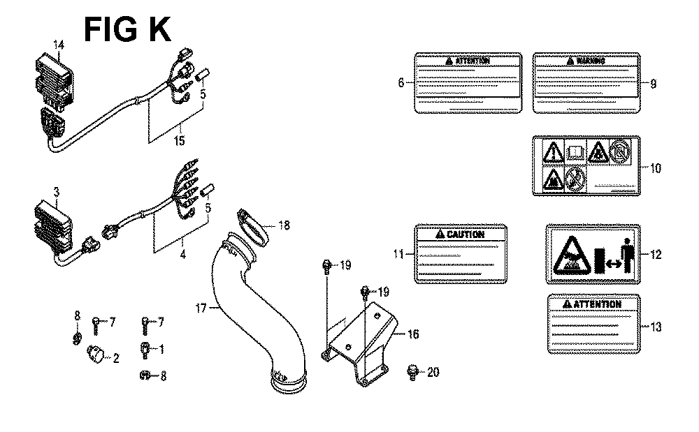 GXV660R-TTAF-Honda-PB-11Break Down