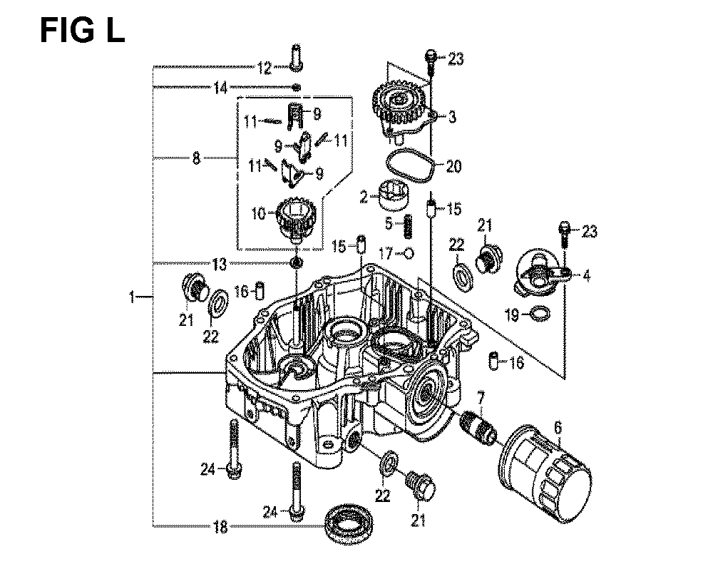 GXV660R-TTAF-Honda-PB-12Break Down