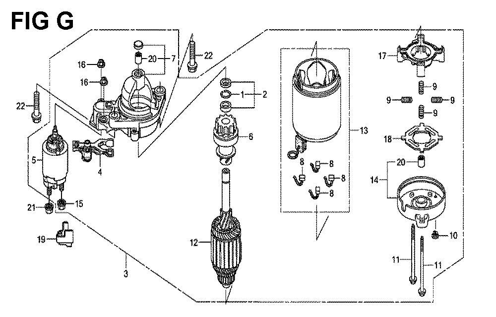 GXV660R-TTAF-Honda-PB-7Break Down