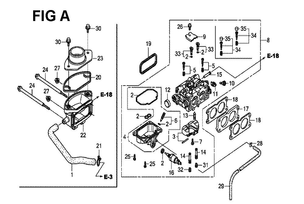GXV660R-TTAF4-Honda-PB-1Break Down