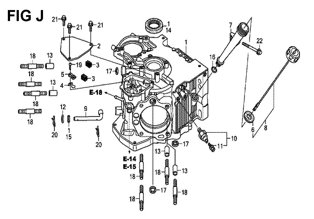 GXV660R-TTAF4-Honda-PB-10Break Down