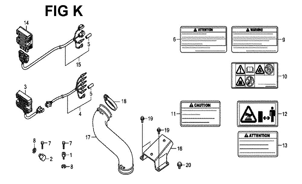 GXV660R-TTAF4-Honda-PB-11Break Down