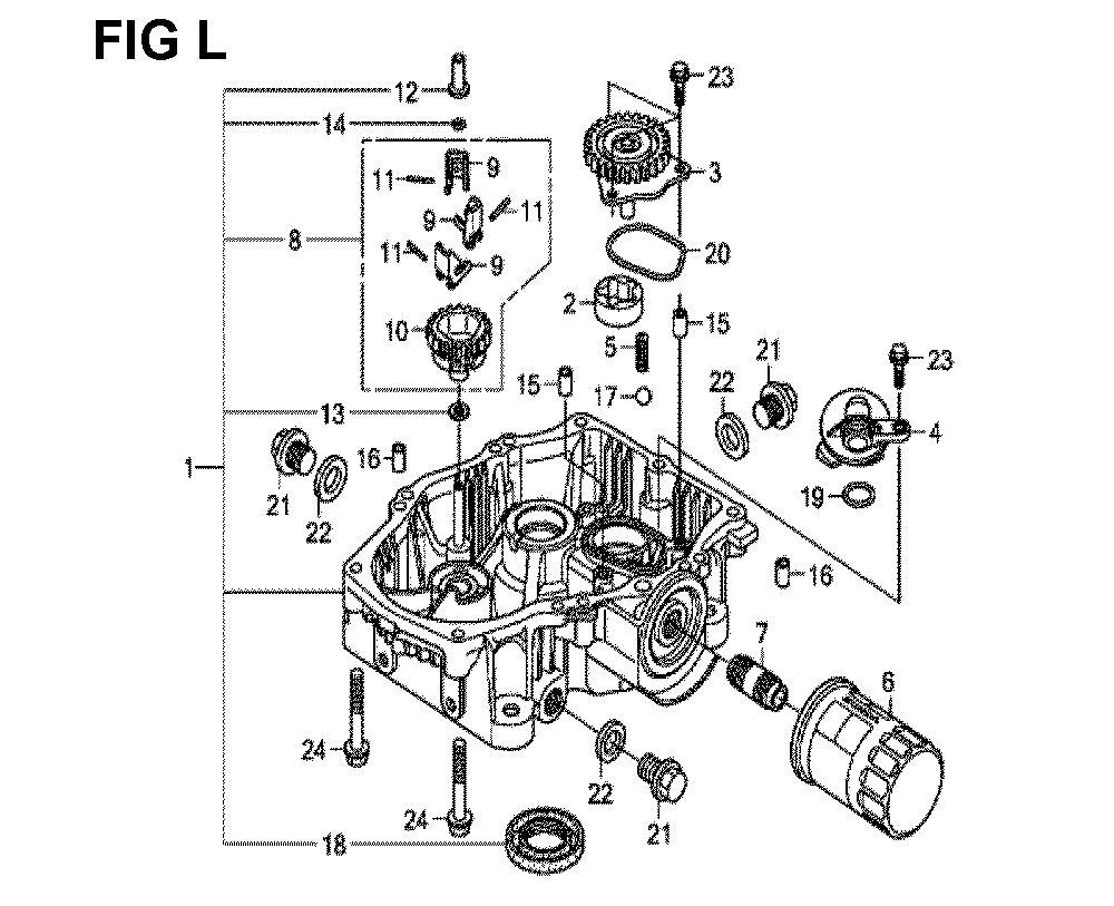 GXV660R-TTAF4-Honda-PB-12Break Down