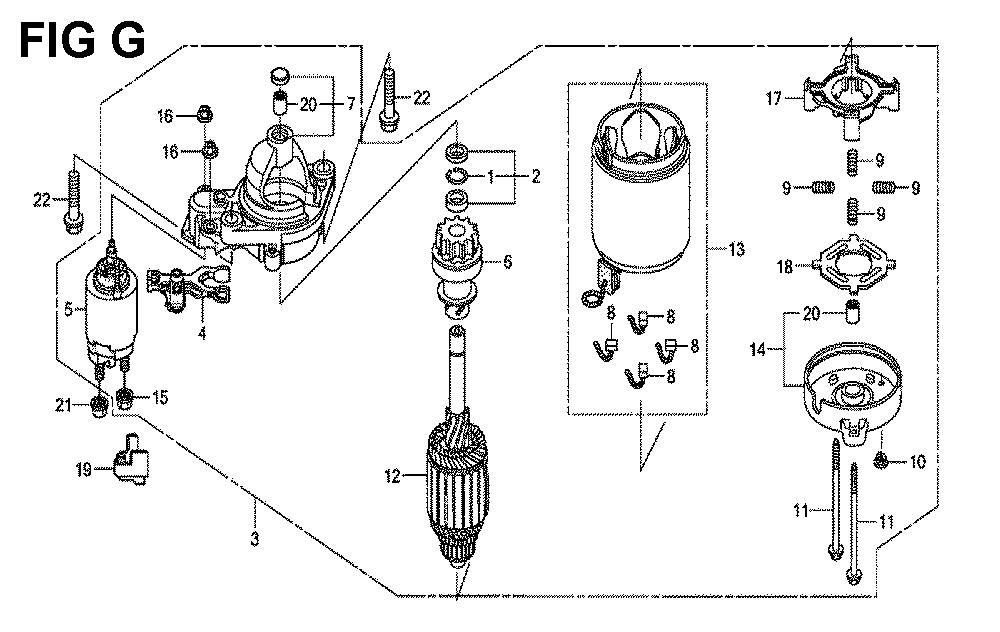 GXV660R-TTAF4-Honda-PB-7Break Down
