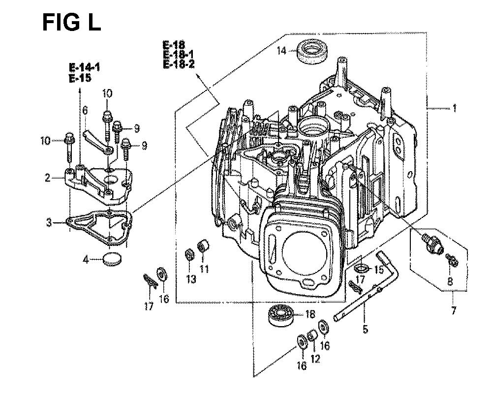 GXV670-TTAE2A-Honda-PB-12Break Down