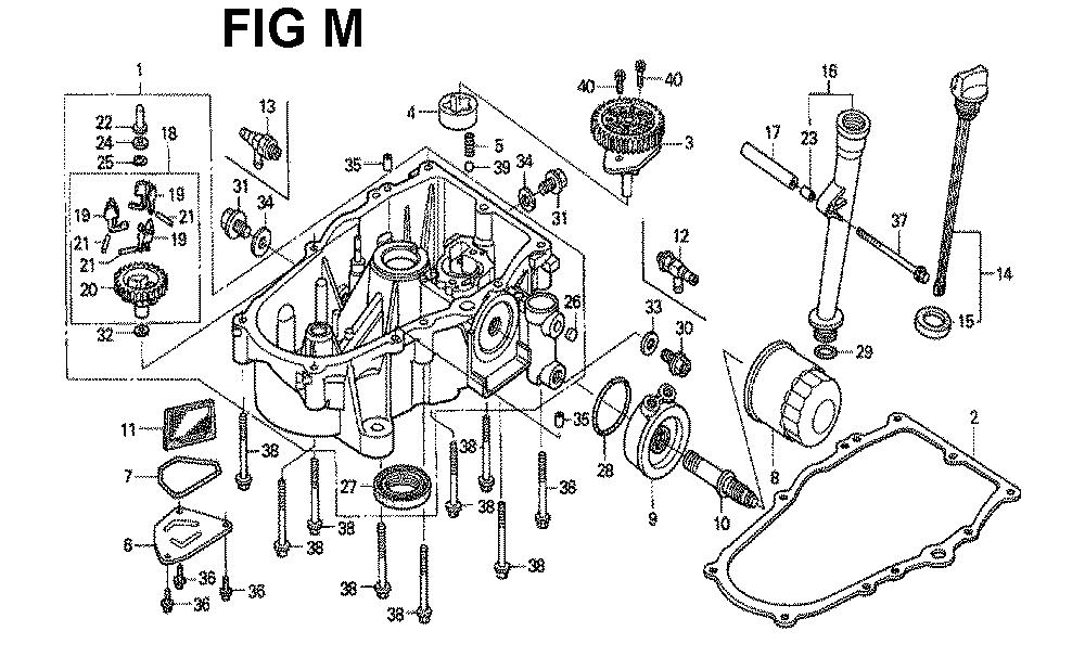 GXV670-TTAE2A-Honda-PB-13Break Down