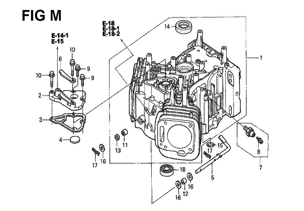 GXV670-TTAF-Honda-PB-13Break Down