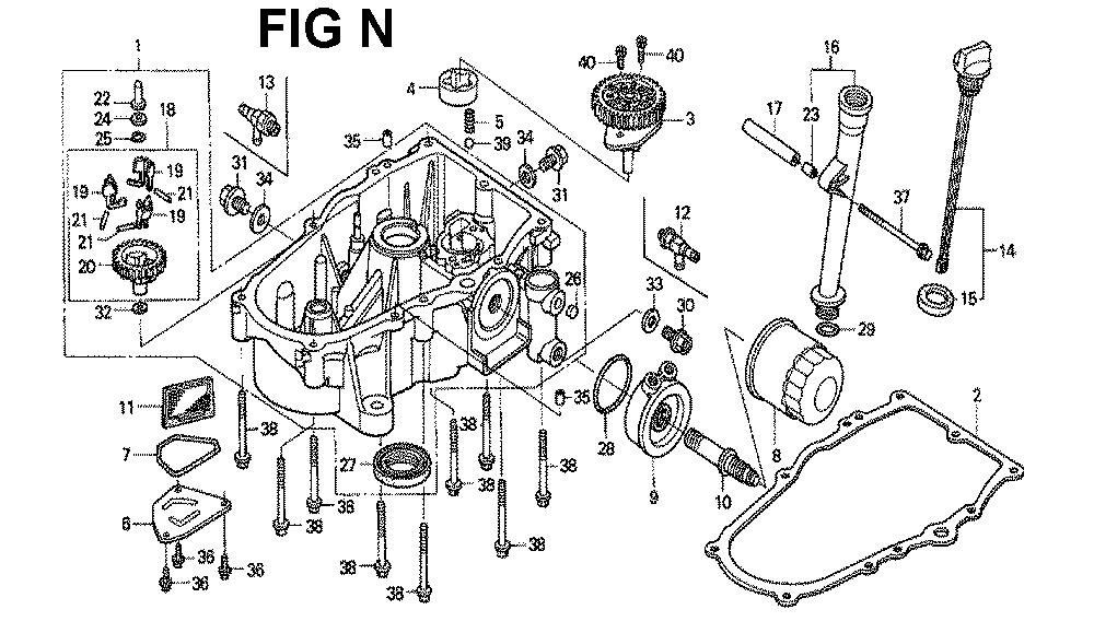 GXV670-TTAF-Honda-PB-14Break Down