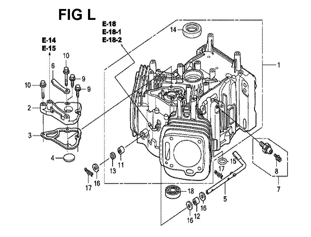 GXV670R-TTAD2-Honda-PB-12Break Down