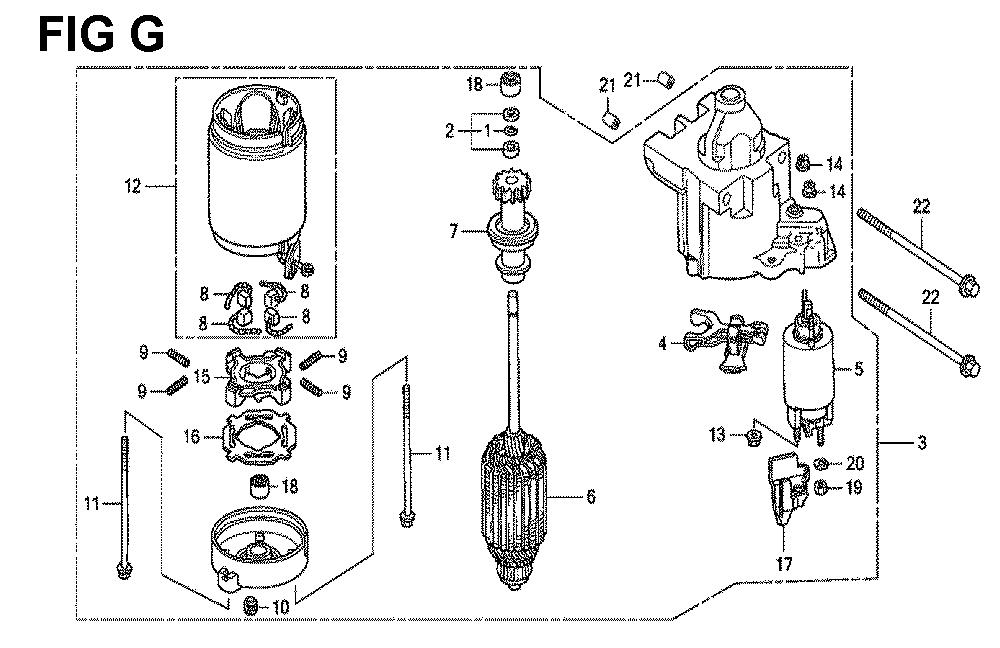 GXV670R-TTAD2-Honda-PB-7Break Down