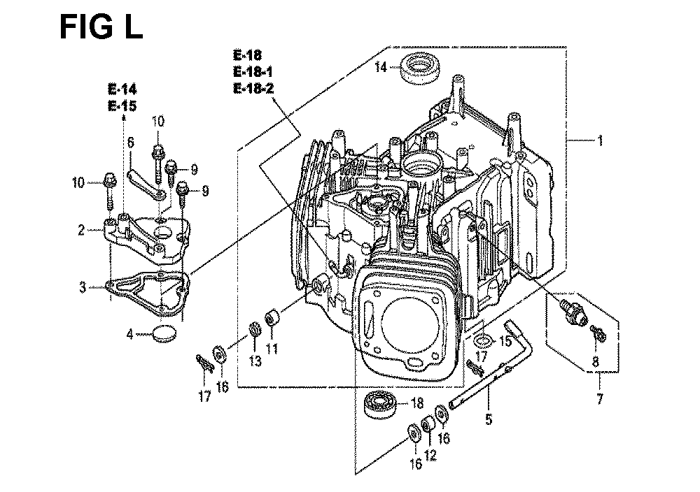 GXV670R-TTAE2-Honda-PB-12Break Down