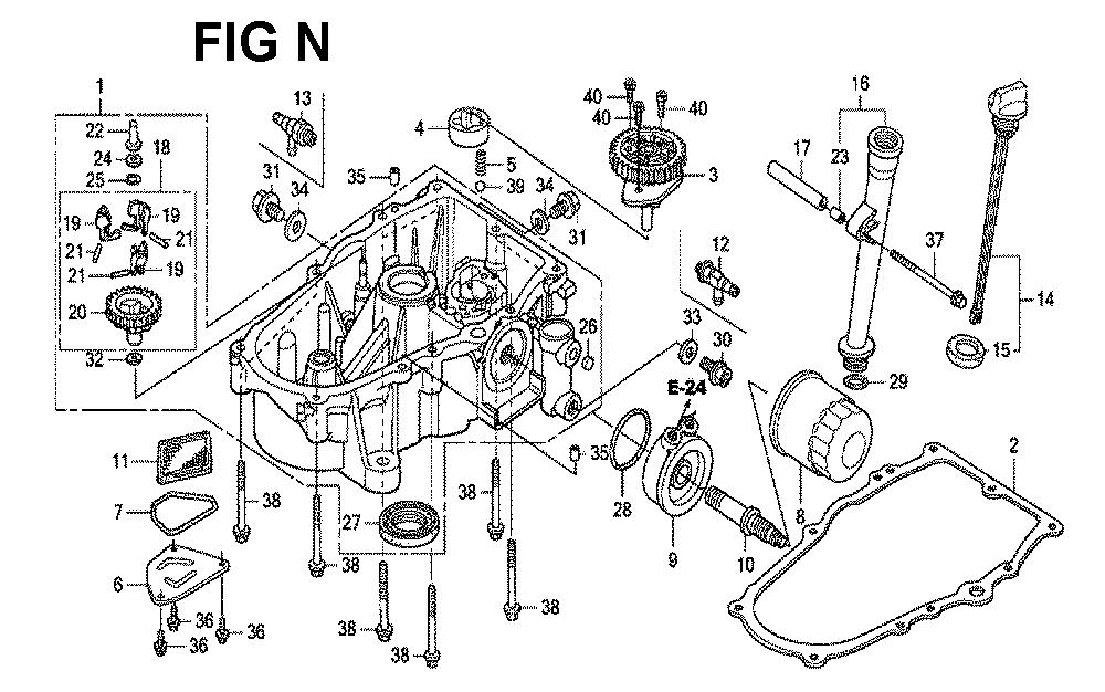 GXV670R-TTAE2-Honda-PB-14Break Down