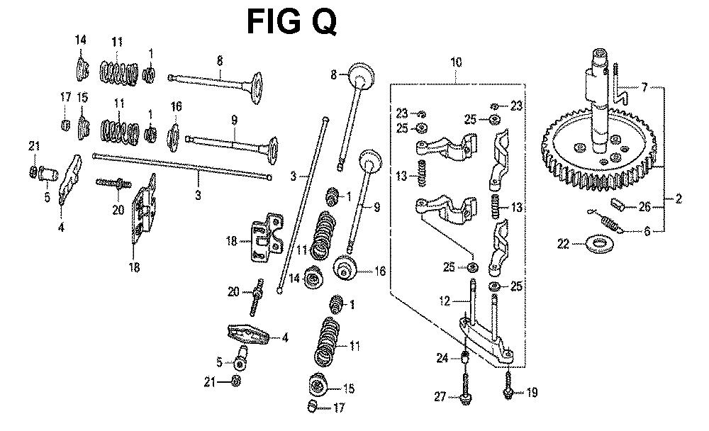GXV670R-TTAE2-Honda-PB-17Break Down