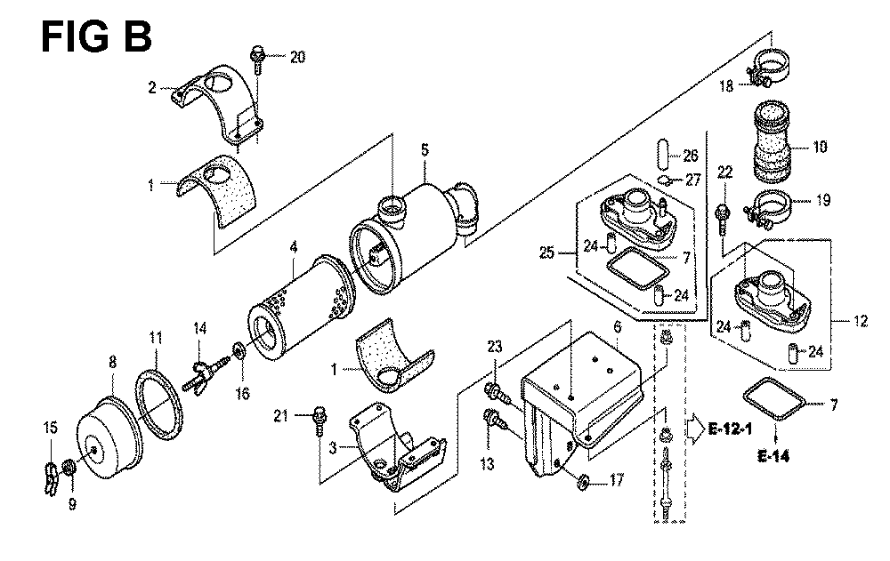 GXV670R-TTAE2-Honda-PB-2Break Down