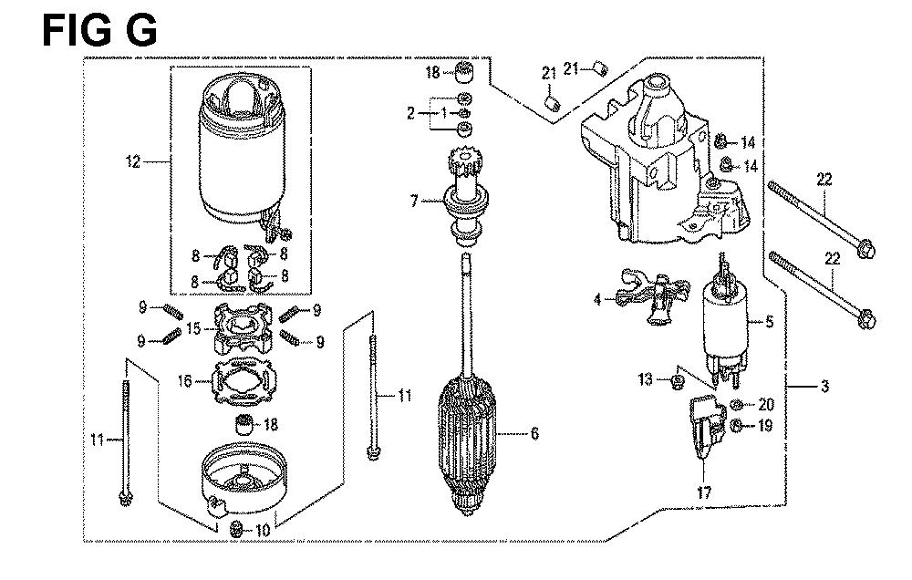 GXV670R-TTAE2-Honda-PB-7Break Down
