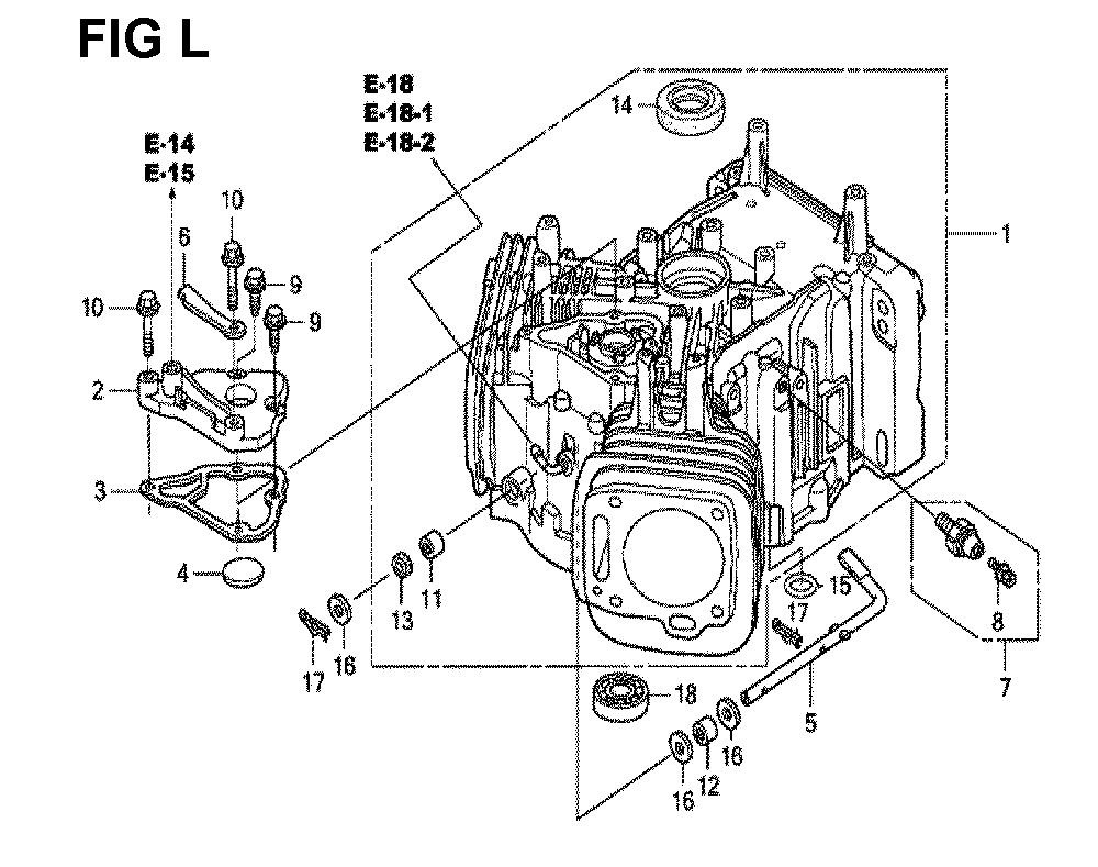 GXV670R-TTAF2-Honda-PB-12Break Down