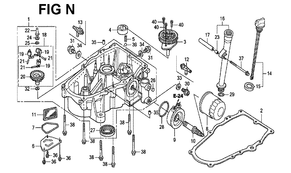GXV670R-TTAF2-Honda-PB-14Break Down