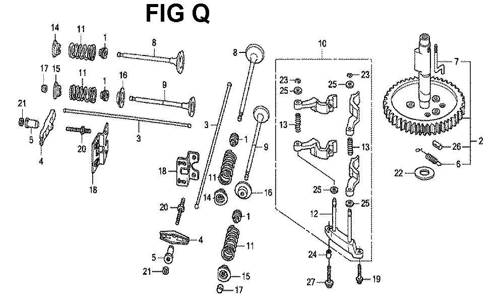 GXV670R-TTAF2-Honda-PB-17Break Down