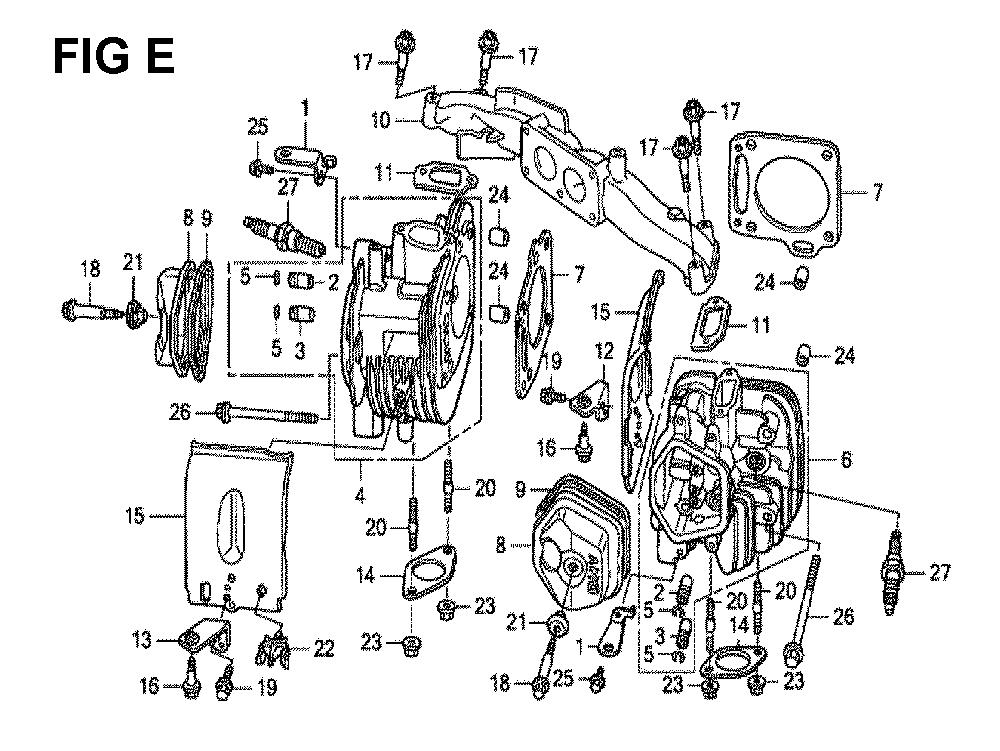 GXV670R-TTAF2-Honda-PB-5Break Down