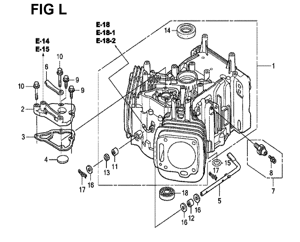 GXV670U-TTAD2-Honda-PB-12Break Down