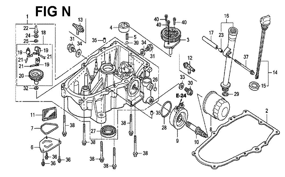 GXV670U-TTAE2-Honda-PB-14Break Down
