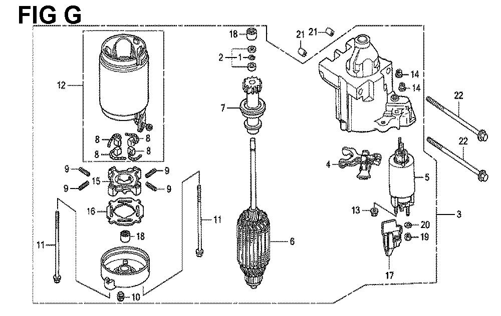 GXV670U-TTAE2-Honda-PB-7Break Down