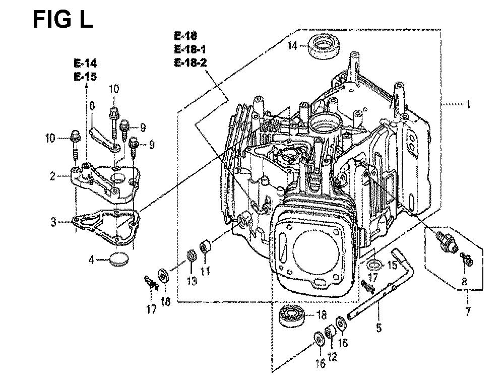 GXV670U-TTAF2-Honda-PB-12Break Down