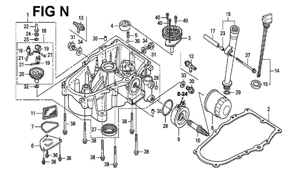 GXV670U-TTAF2-Honda-PB-14Break Down