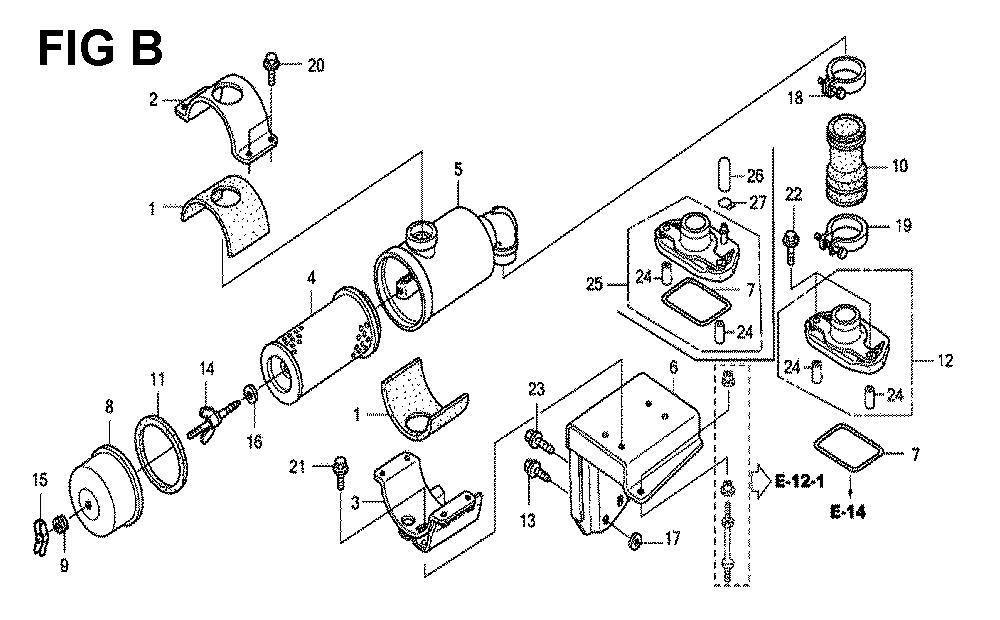 GXV670U-TTAF2-Honda-PB-2Break Down