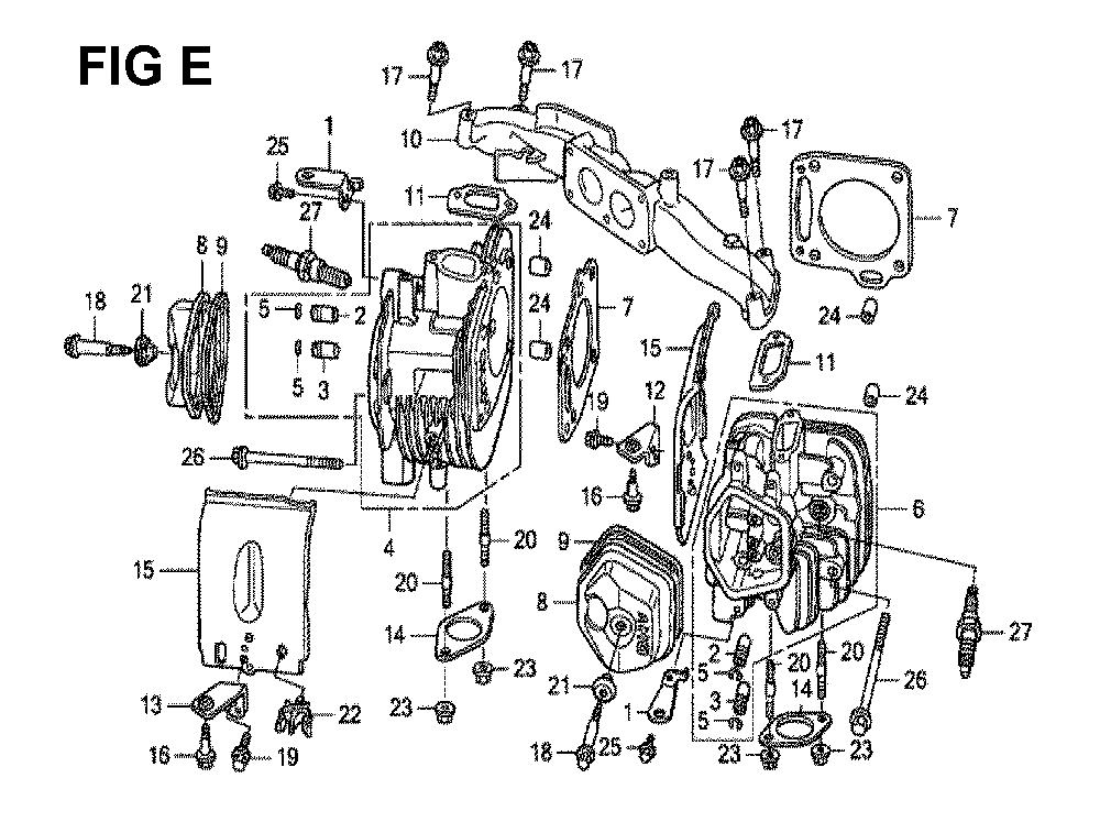 GXV670U-TTAF2-Honda-PB-5Break Down