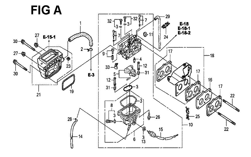 GXV670U-TTAF4-Honda-PB-1Break Down