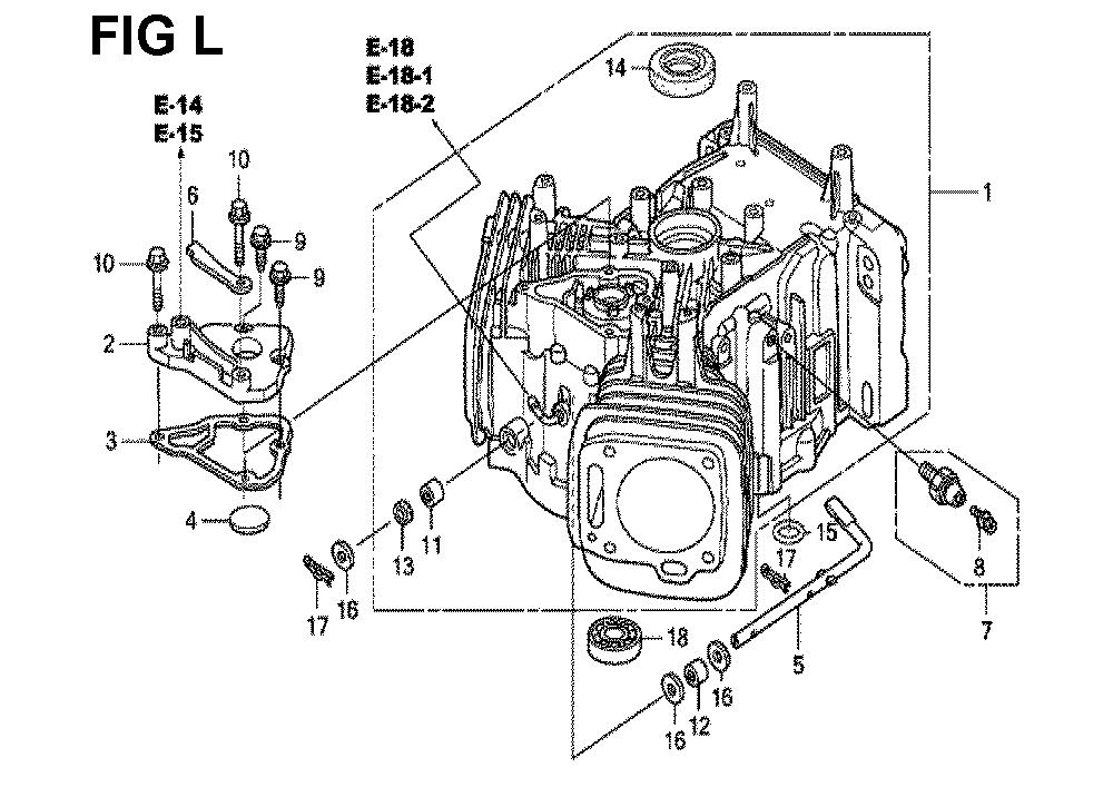 GXV670U-TTAF4-Honda-PB-12Break Down