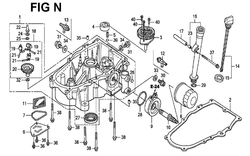 GXV670U-TTAF4-Honda-PB-14Break Down
