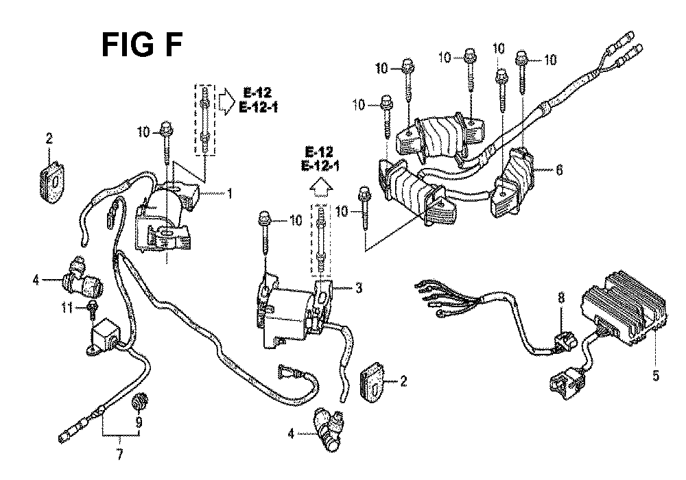 GXV670U-TTAF4-Honda-PB-6Break Down