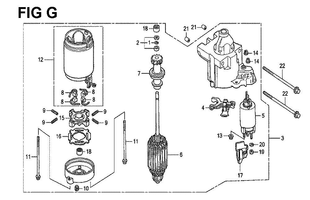 GXV670U-TTAF4-Honda-PB-7Break Down