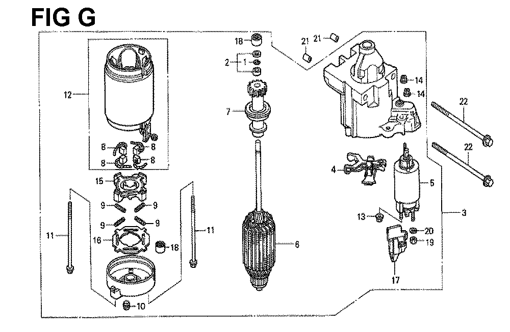 GXV671-TTAF4A-Honda-PB-7Break Down