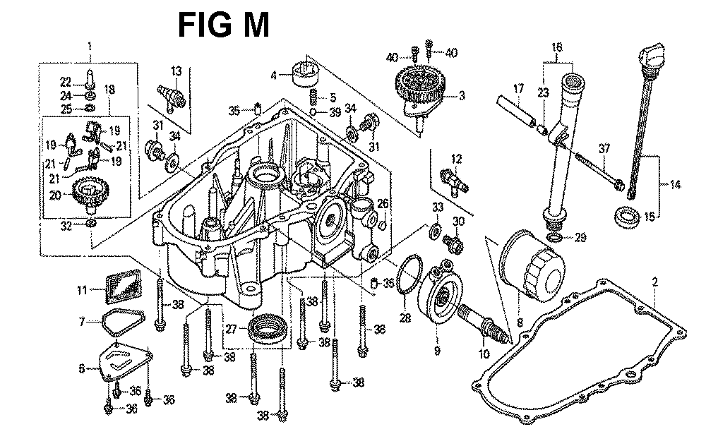 GXV671-TTAFA-Honda-PB-13Break Down